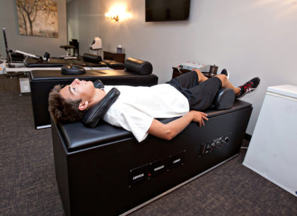electrical muscle stimulation, chiropractor the colony tx